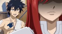 Gray Calling Erza Heartless