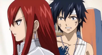 Erza Telling Everyone to Leave