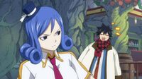 Gray Trying to Get Juvia's Approval