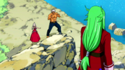 Freed is approached by Mira and Elfman