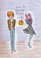 Halloween Loke and Aries