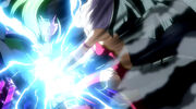 Mirajane using Evil Spark on Freed