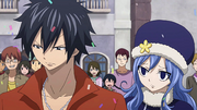 Juvia Concerned with Gray's Current Mood