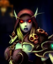 World of warcraft elves sylvanas windrunner desktop 1280x800 hd-wallpaper-1193005