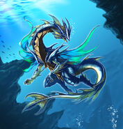 Carina the Water Dragon