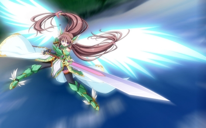FileWings Long Hair Armor Anime Girls 1920x1200 Wallpaper Miscellaneoushi 3