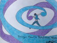 Dragon Devil's Retaliation Wave (Color)