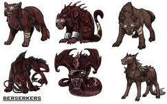 Berserk Creatures by TheSharinganMaster
