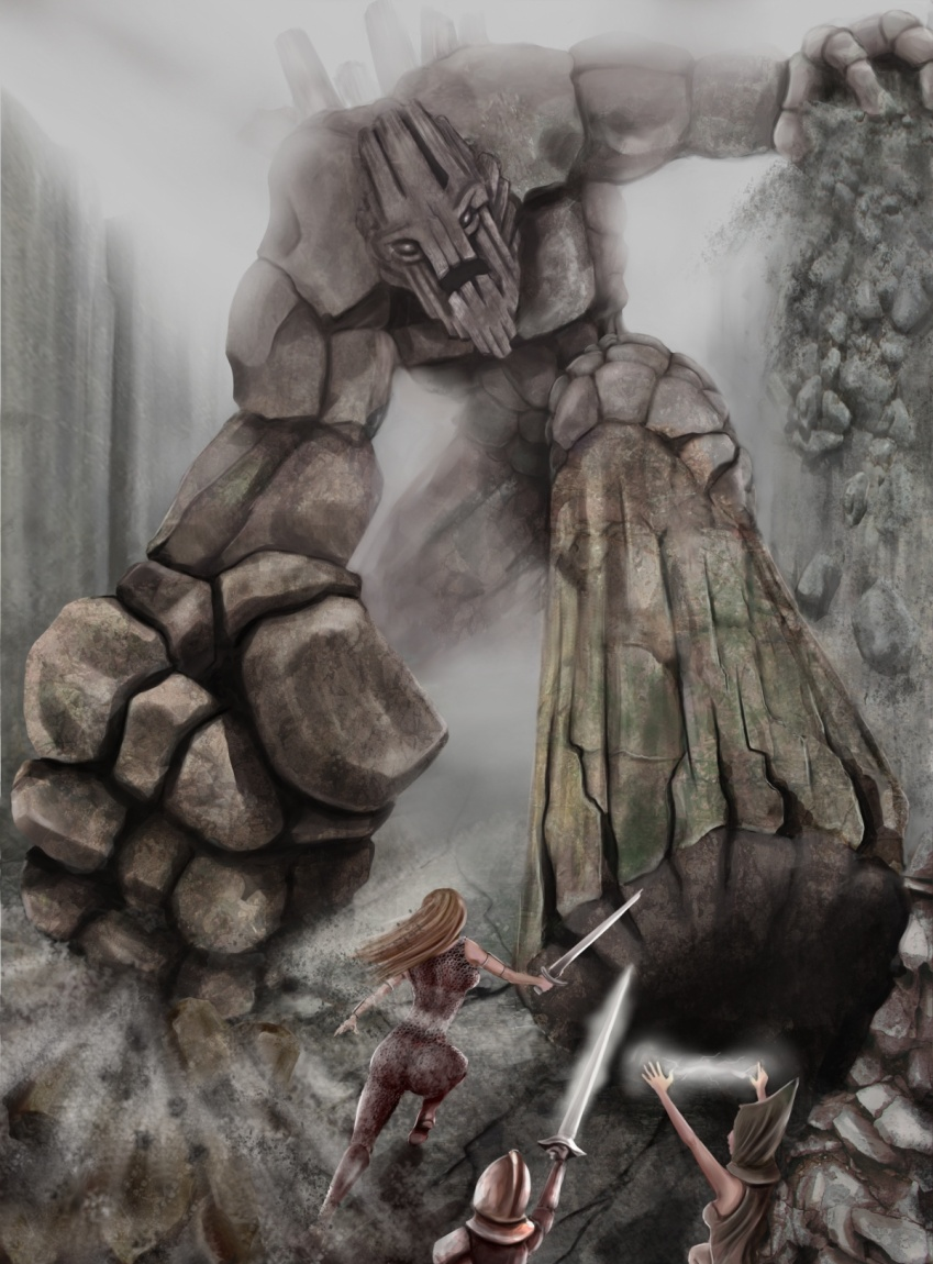 Картинка каменного великана