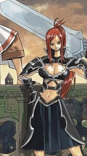 Erza Scarlet - Black Wing Armor