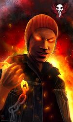Infamous evil delsin rowe by themaestronoob-d7cu9kw