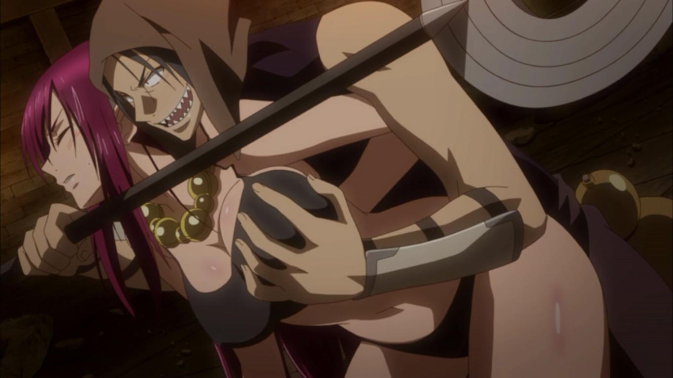 Anime Rape Porn Gagged monday anime: world war blue – cain s. latrani