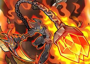 Flame chains