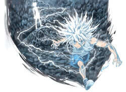 Killua god speed by nick ian-d7901x3