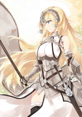 Jeanne d arc and jeanne d arc fate apocrypha and fate series drawn by marie mushroom sample-09ced1b2711c010c2993bb598921c9c3