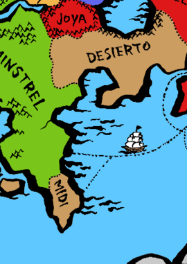 Mapped Midi