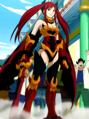 Erza Scarlet - Flame Empress Armor