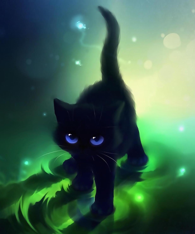 Image Black Cat Anime Wallpaper 1 Jpg Fairy Tail Fanon Wiki