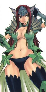 Erza Scarelt - Sea Empress Armor