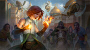 Jasmine awakening Uriel Magic