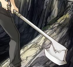 Bone-make axe