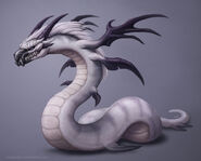 Winged serpent by sleepingfox-d8qh37a