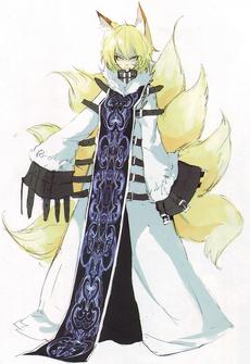 Kuzunoha true form