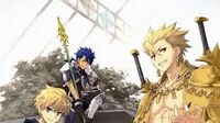 Lancelot and his companions