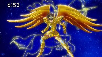 Sagittarius armor
