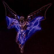Lightning Winged Demon