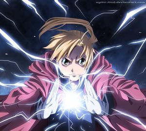 Anime Lightning Dragon