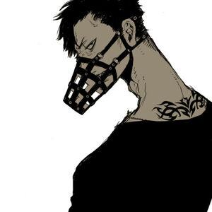 Anime guy muzzle