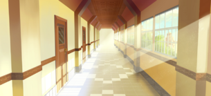 Tlom school corridor bg 1 by exitmothership-d5yfnww