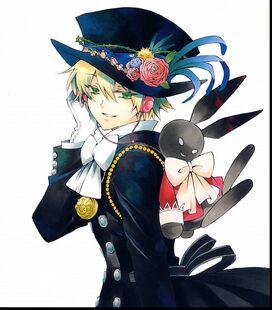 Ikeda With Pet Rabbit