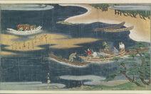 Urashima Taro handscroll from Bodleian Library 1