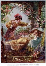 Prince Florimund finds the Sleeping Beauty - Project Gutenberg etext 19993