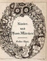 Grimm's Kinder- und Hausmärchen, Erster Theil (1812).cover