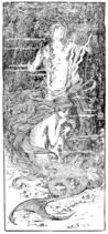 Page 127 illustration in fairy tales of Andersen (Stratton)