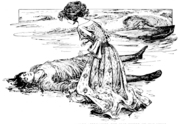 Page 131 illustration in fairy tales of Andersen (Stratton)
