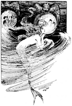 Page 129 illustration in fairy tales of Andersen (Stratton)