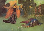 Warwick Goble Beauty and Beast