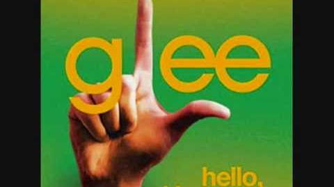 Glee - Hello, I love you with Lyrics