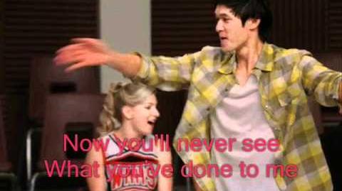 Glee Gives You Hell Lyrics