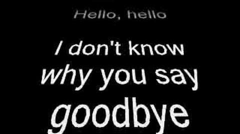 Hello Goodbye!!!!