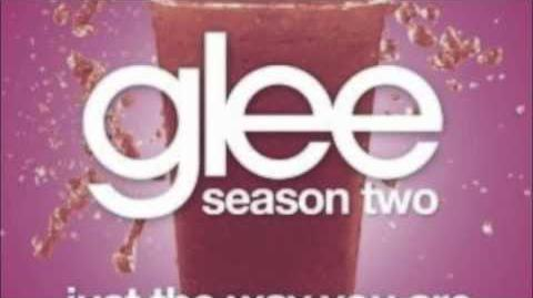 Just the way you are GLEE with lyrics