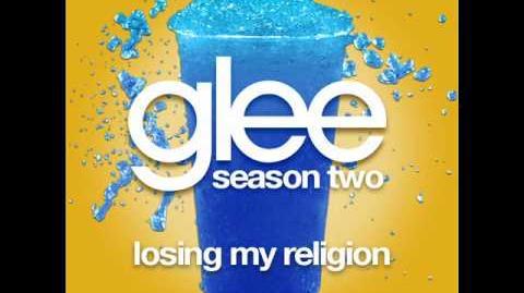 Glee - Losing My Religion (LYRICS)