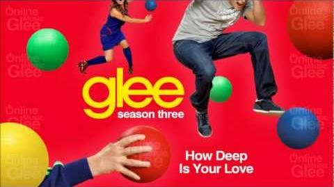 How Deep Is Your Love - Glee HD Full Studio