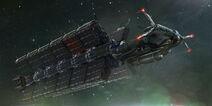 Corvo Spacefreighter