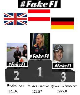 British GP Podium