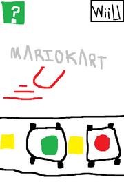Mario Kart U Beta Boxart